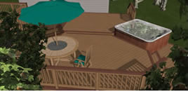 3D image of deck
