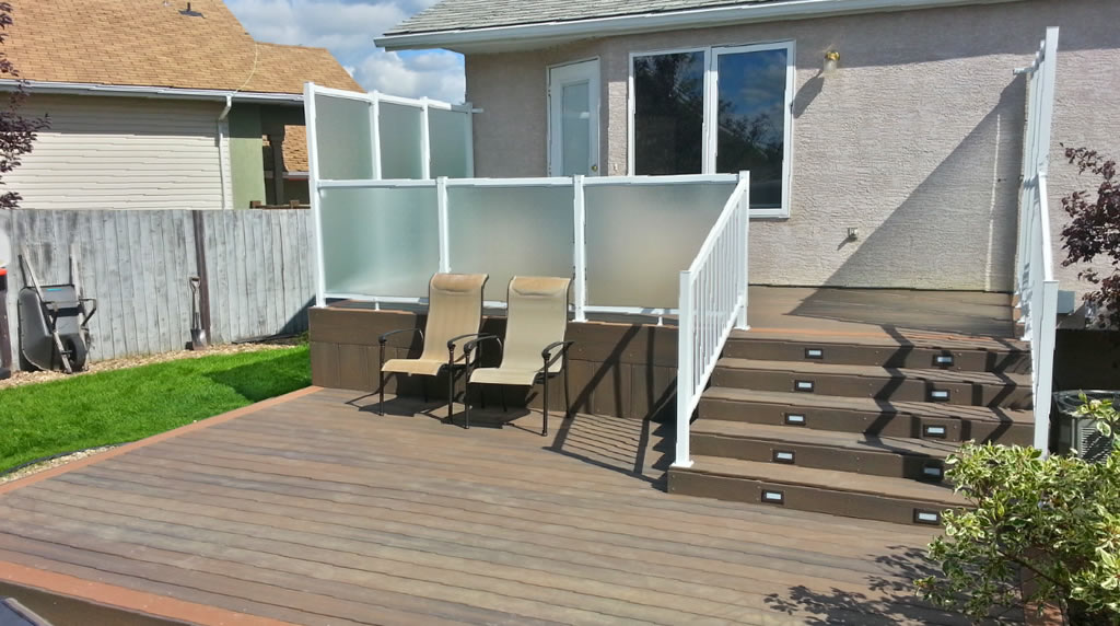 Nate Collins deck builder in Lloydminster Alberta