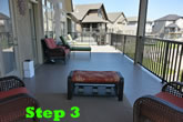 Step 3 for a Vinyl Deck: Lay Vinyl, weld seams & RELAX!
