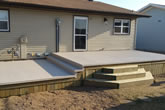 Example of deck work